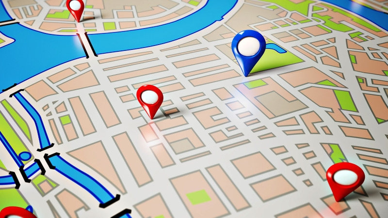 تهیهی تصویر از نقشهی شهر یا مکان مورد نظر در Google Maps