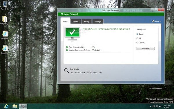 بهروزرسانی آفلاین Windows Defender