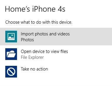 انتقال آسان تصاویر از iPhone به کامپیوتر در ویندوز 8