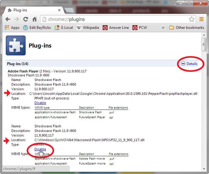 حل مشکل بسته شدن ناگهانی Flash Player در مرورگر گوگل کروم