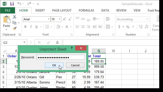 جلوگیری از نمایش فرمولها در Microsoft Excel 2013