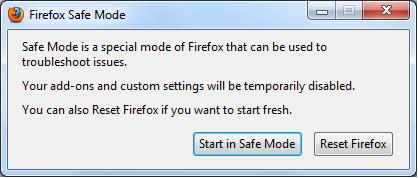 نحوهی بازکردن مرورگرهای مختلف در حالت Safe Mode