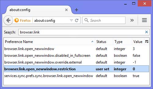 باز کردن پنجرههای Pop-up در یک تب جدید در مرورگرهای اینترنتی