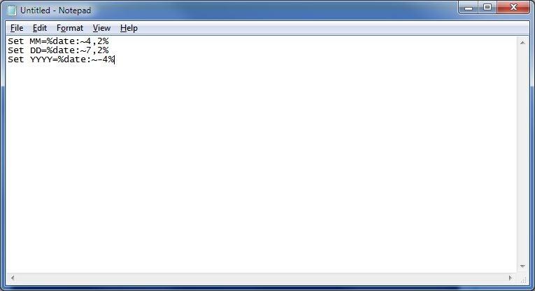 ساختن فایل گزارش از Batch Fileها