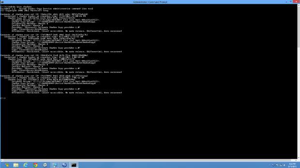 مشاهدهی پنجرهی Command Prompt به صورت تمامصفحه