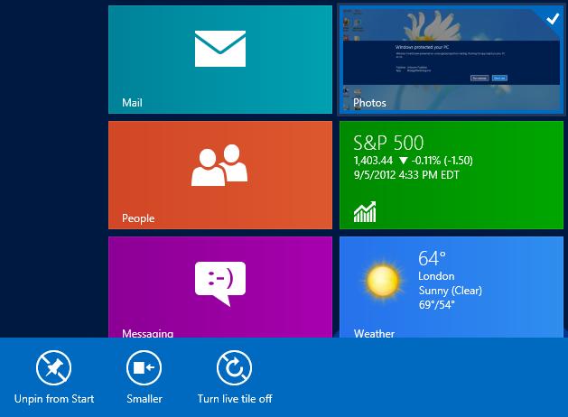 غیرفعال کردن گزینهی Uninstall در در تنظیمات اپلیکیشنهای Modern UI ویندوز 8