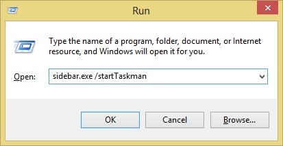 دستورات مخفی برای مدیریت گجتها در ویندوز 7