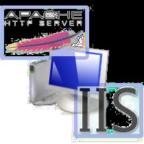 نحوهی اجرای وب سرورهای Apache و IIS به طور همزمان
