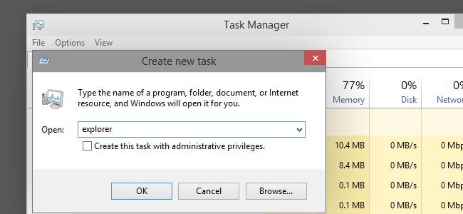 ترفندی مخفی برای بستن Windows Explorer در ویندوز 8