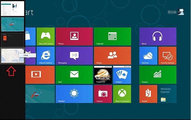 5 روش برای جابجایی بین پنجرههای باز در نوار Switch List «ویندوز 8»