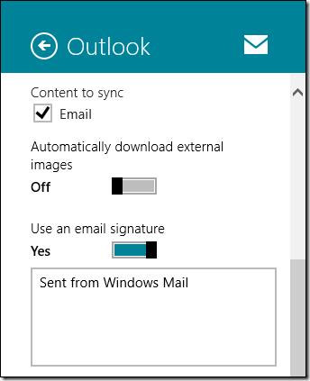 جلوگیری از دانلود خودکار تصاویر در اپلیکیشن Mail ویندوز 8