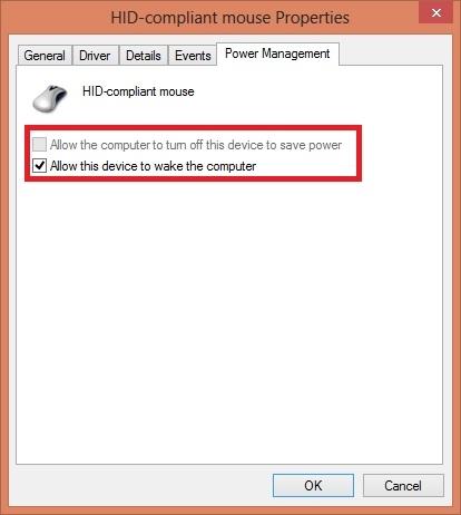 جلوگیری از بیدار شدن کامپیوتر توسط ماوس یا کیبورد در ویندوز 7