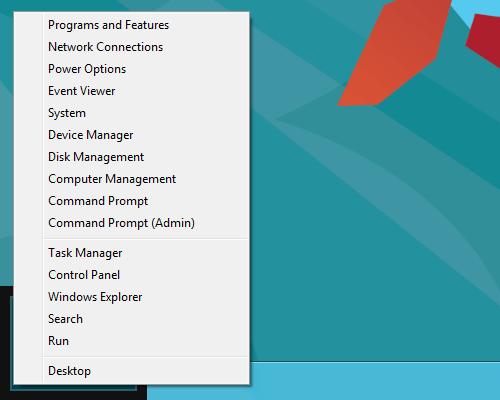 افزودن گزینههای Power به منوی راست کلیک دسکتاپ در ویندوز 8