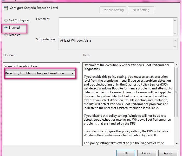 افزایش سرعت بالا آمدن ویندوز ویستا و 7 با انجام یک تنظیم ساده
