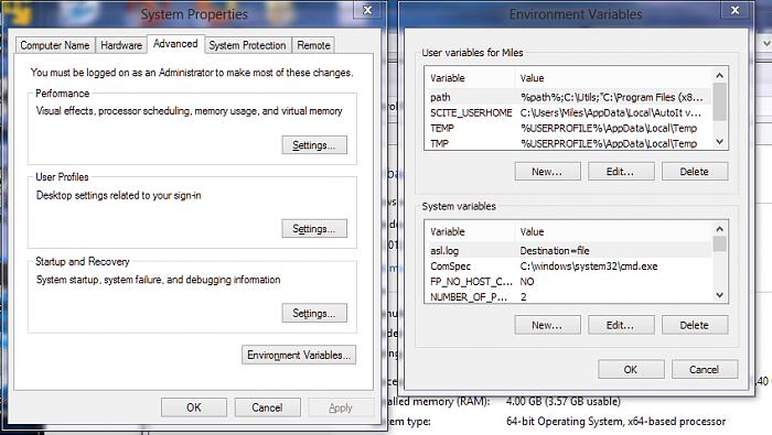 تغییر مکان ذخیرهی فایلهای موقت در ویندوز