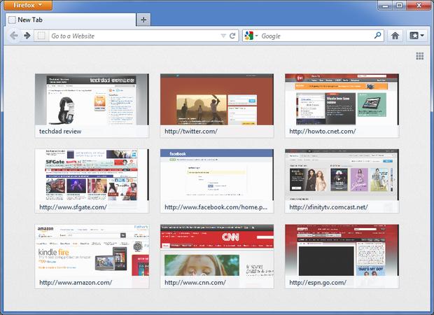 حذف قابلیت جدید صفحهی New Tab در فایرفاکس 13