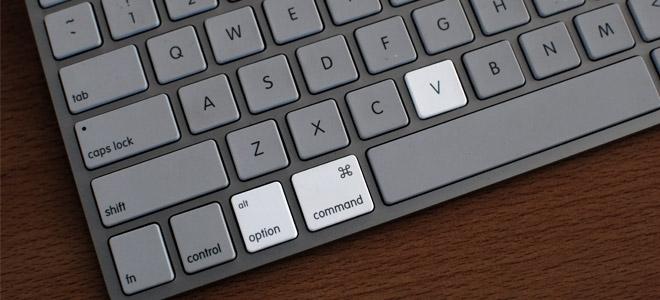 نحوه انجام عمل Cut و Paste در Mac OS X Lion با استفاده از یک کلید ترکیبی