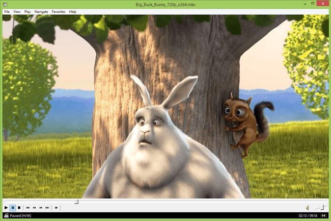 نمایش زمان باقیمانده از ویدیو در Media Player Classic