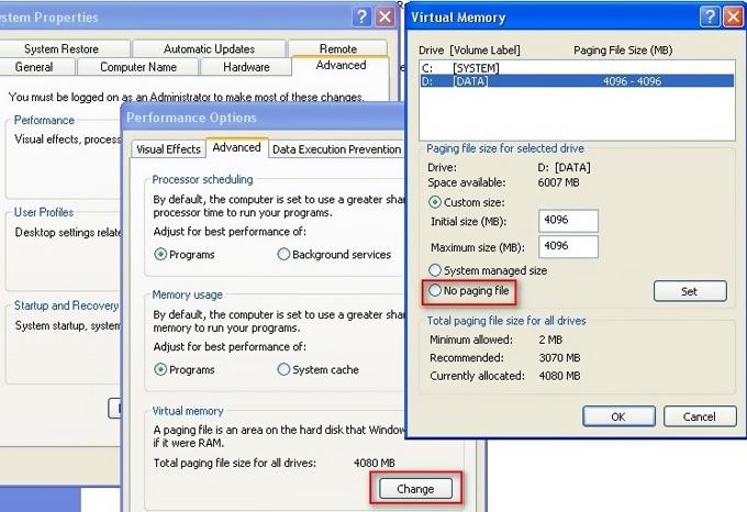 افزایش سرعت خروج از بازیها در ویندوز XP
