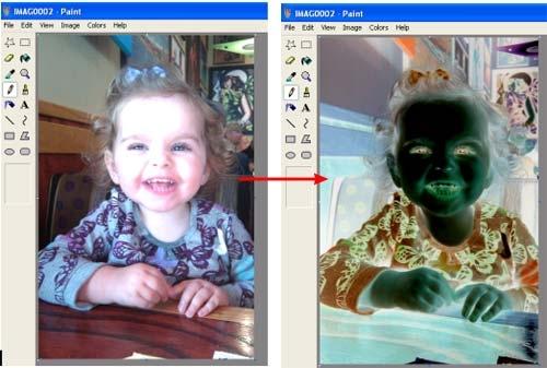 چاپ کردن نگاتیو عکس به وسیله Paint ویندوز