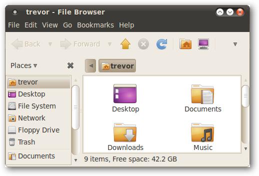 انتقال دکمههای پنجره به سمت راست در Ubuntu 10.04
