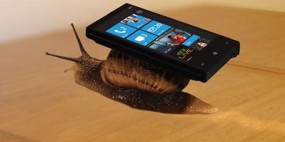بازگردانی سرعت بالای گوشی موبایل