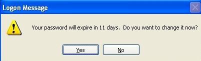 تعیین تاریخ انقضا برای رمز عبور حسابهای کاربری در ویندوز XP