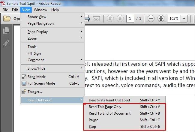 فایلهای PDF را به حرف درآورید!