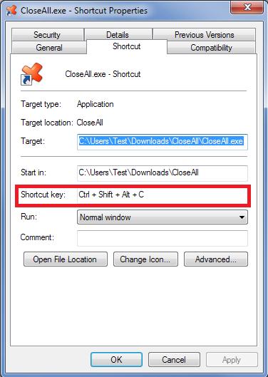 ساخت کلید میانبر برای اجرای نرمافزارهای مختلف