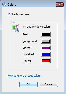 عوض کردن رنگ فونت سایتها به سلیقهی خودتان در مرورگر IE