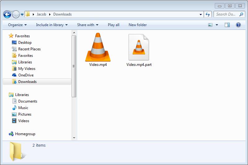 باز نمودن فایلهای ناقص در حال دانلود در مرورگر فایرفاکس