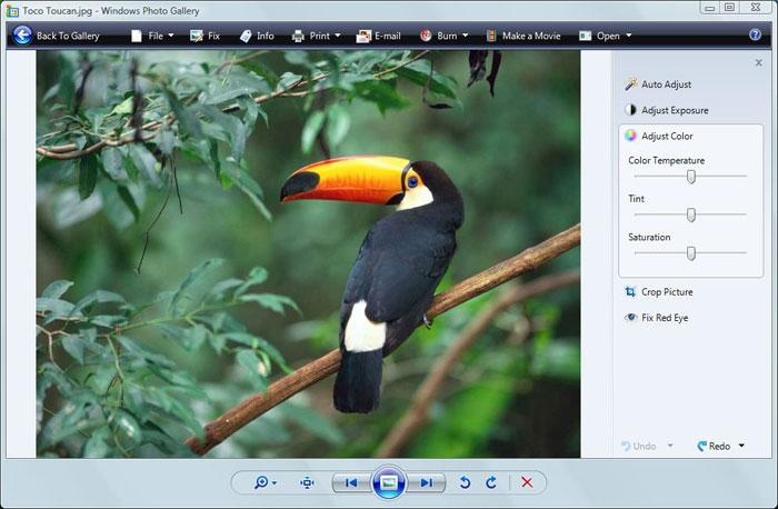 بازگردانی عکسهای ویرایششده در Windows Photo Gallery ویندوز ویستا به حالت قبل