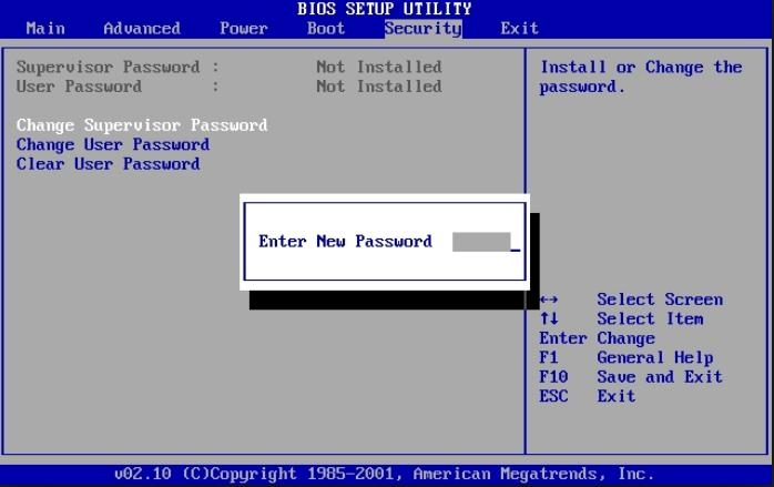 پاک کردن رمز عبور BIOS کامپیوتر به سادهترین شکل ممکن!