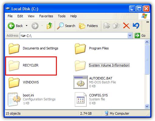 مخفیسازی کامل فایلها از Search ویندوز