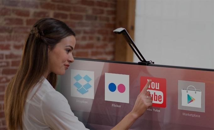 تبدیل تلویزیون به صفحهی نمایش لمسی