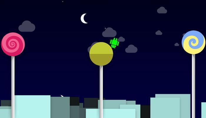 بازی مخفیشده در اندروید Lollipop