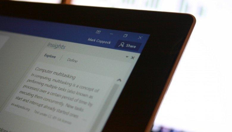 نحوهی بهاشتراکگذاری فایلها در آفیس 2016