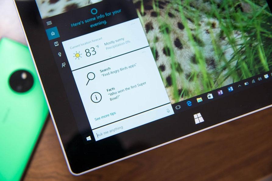 نحوهی فعالسازی Hey Cortana در ویندوز 10
