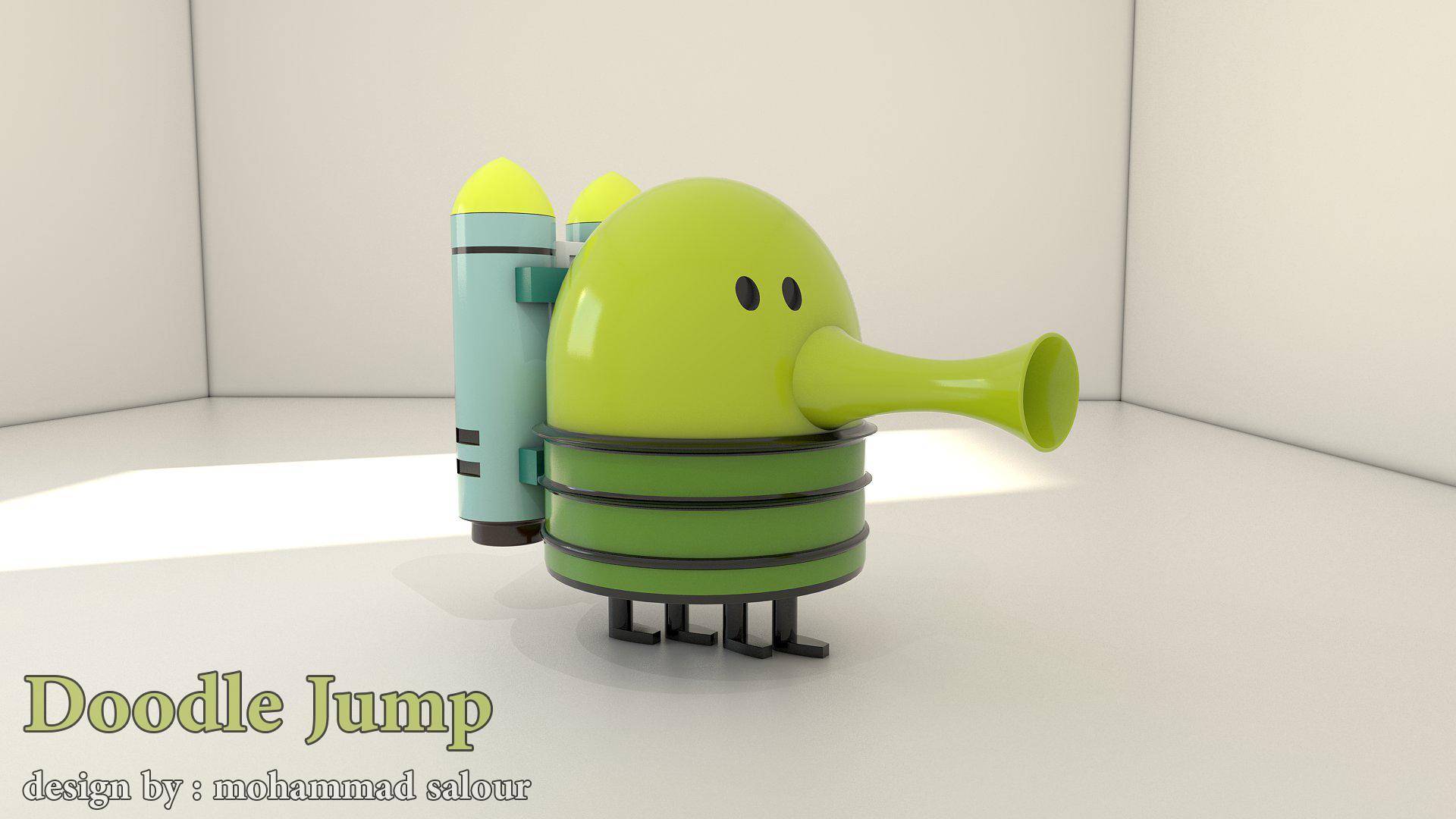 3D HD Doodle Jump pic