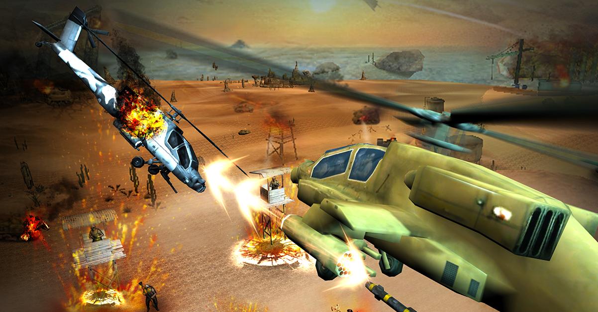 دانلود بازی جنگ جهانی هلیکوپتر ها