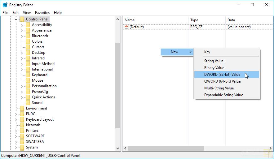 فعالسازی صفحهی مخفی Share در Settings ویندوز 10 1