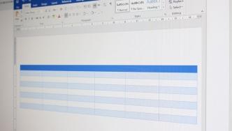 تنظیم کردن سریع و آسان جدول در Word
