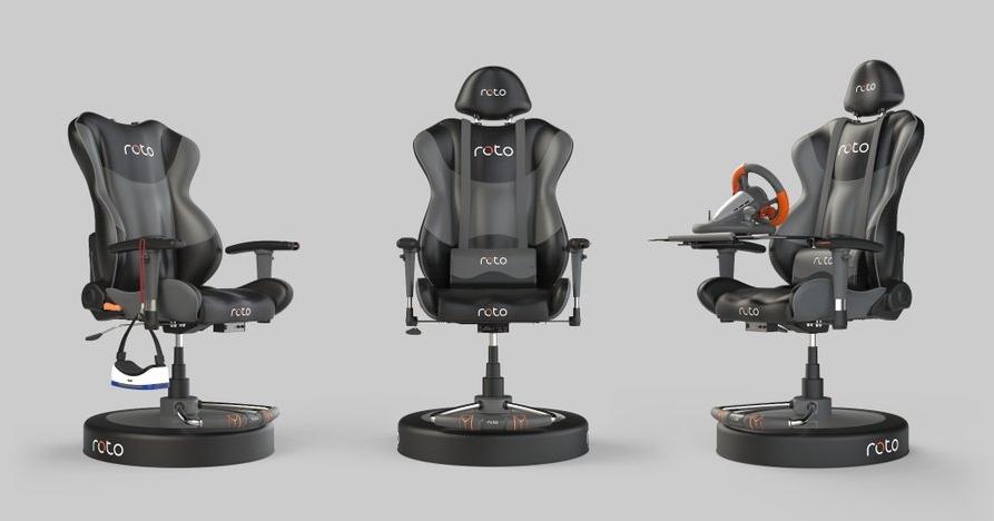 صندلی موتوردار چرخشی، تجربهی واقعیت مجازی را واقعیتر میکند