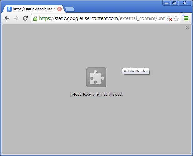 رفع مشکل عدم نمایش فایلهای PDF در داخل مرورگر گوگل کروم