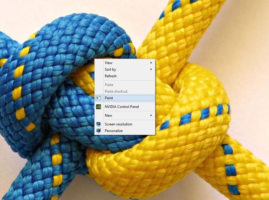 اضافه کردن Paint به منوی راستکلیک از طریق رجیستری ویندوز