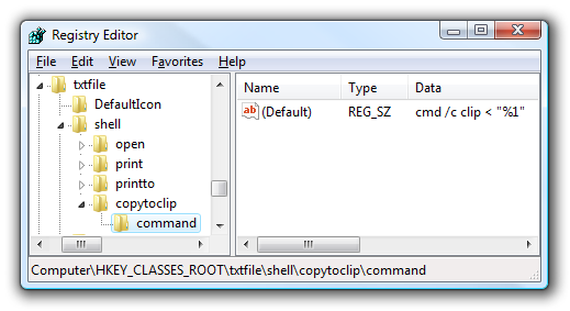 Copy محتویات فایلهای متنی بدون باز نمودن آنها