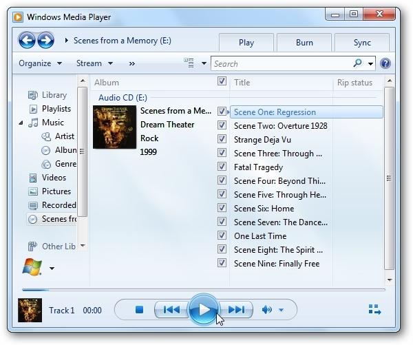 نمایش اطلاعات فایلهای صوتی اجرا شده توسط Windows Media Player در نوار تسکبار