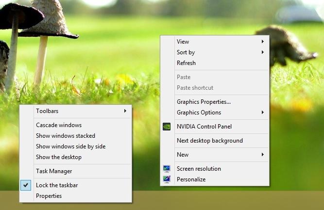 باز کردن دو منوی راستکلیک در ویندوز به صورت همزمان!