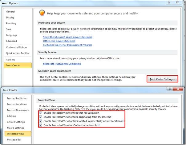رفع مشکل هنگ آفیس در ویندوز 8 به هنگام باز کردن فایلها در حالت حفاظتشده