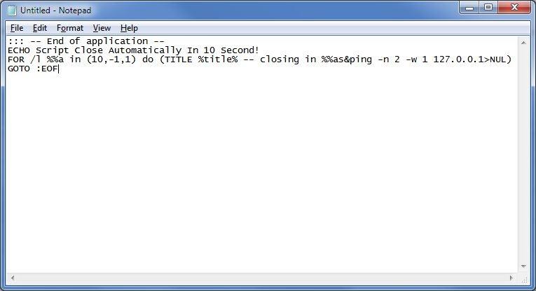 5 راه برای به اتمام رساندن اسکریپتهای Batch